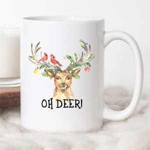 Oh Deer! Christmas Coffee Mug