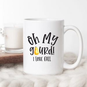 Oh My Gourd It's Fall Coffee Mugs