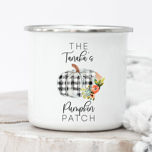 Personalized Pumpkin Patch Campfire Mug