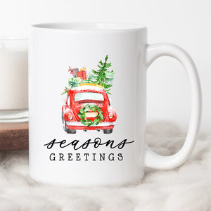 Season's Greetings Coffee Mug