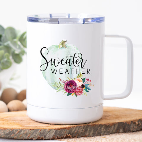 Sweater Weather Travel Mug