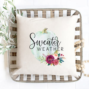 Sweather Weather Pillow Cover