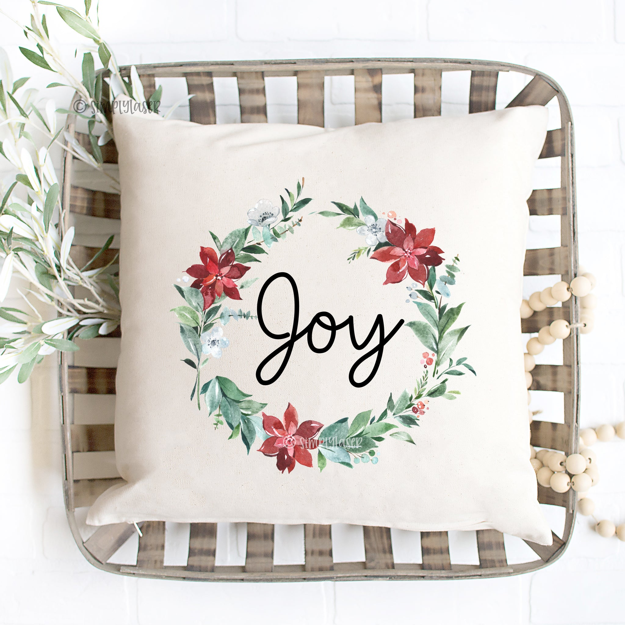Christmas Joy Pillow Cover