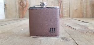 Personalized Flasks for Groomsmen with Initials | Flasks | JWATERS DESIGN