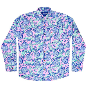 The Coco Jumbo Long Sleeve Stretch Shirt