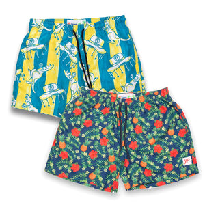 Aloha / Chazzwazzers Stretch Boardies Bundle
