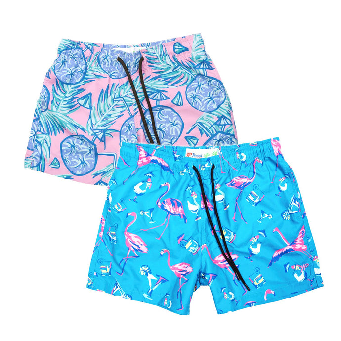 Flamingo and Pina Colado Stretch Boardies Bundle