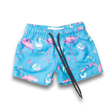 The Fully Flamingo'd Kids Boardies
