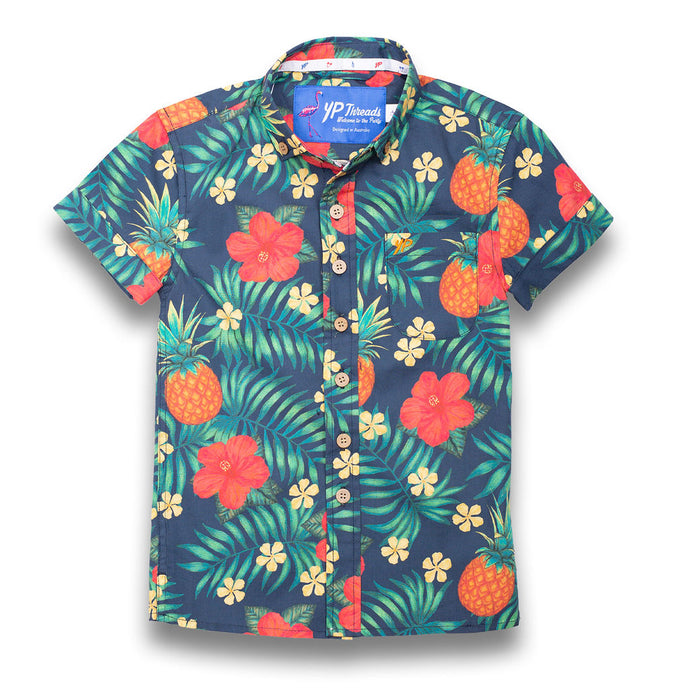 PREORDER | The Lil Kahuna Kids Shirt | Late November Dispatch