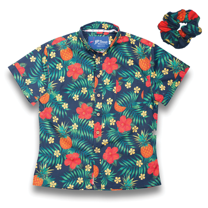 The Aloha Womens Stretch Shirt (FREE SCRUNCHIE)