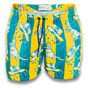The Chazzwazzers Aussie Day Stretch Boardies