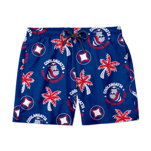 PREORDER | Coolangatta Surf Club Custom Shorts - Blue