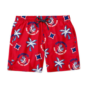 PREORDER | Coolangatta Surf Club Shorts - Red