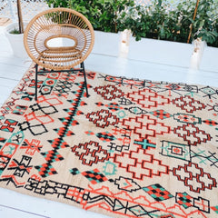 ELA VINTAGE MOROCCAN AZILAL ONE OF A KIND RUG 280 x175cm - Lustere Living