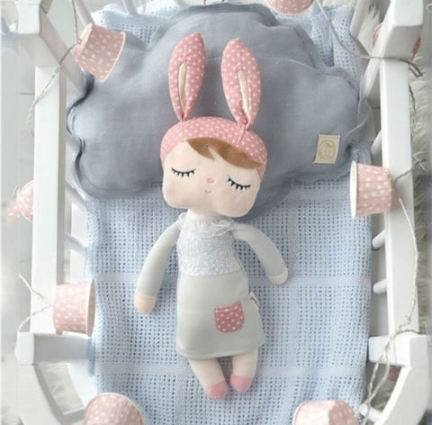 ME TOO LADY RABBIT NURSERY DOLL - Lustere Living