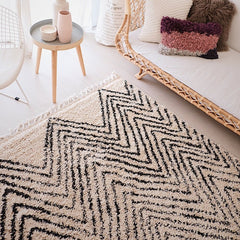 Sultan Ivory Moroccan Tribal Rug 230X160 - Lustere Living