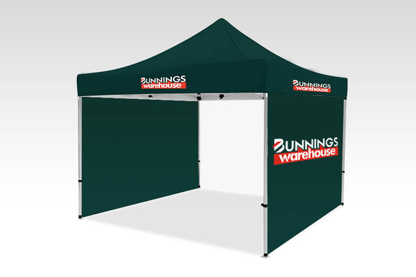 3000mm x 3000mm Pop-up Gazebo with Single side (Displayed outside) & No back wall
