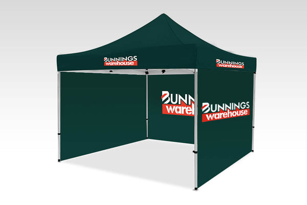 3000mm x 3000mm Pop-up Gazebo with Single side (Displayed outside) & Single back (Displayed inside)