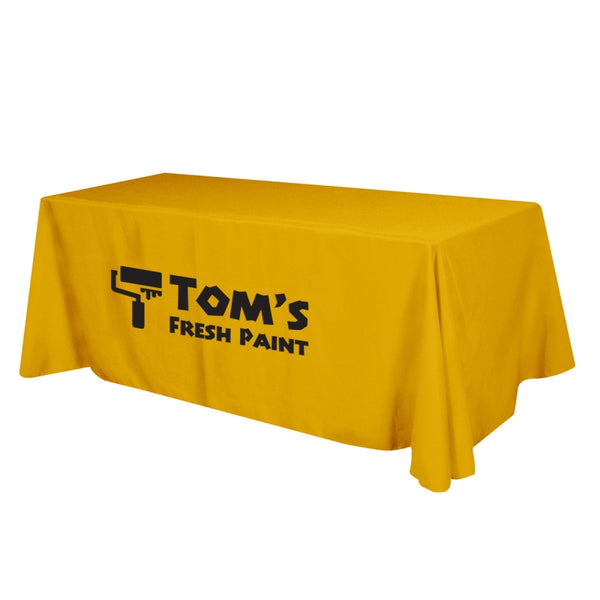 4ft Table Throw (1220mm W x 610mm D x 740mm H) Loose & 4 Sided