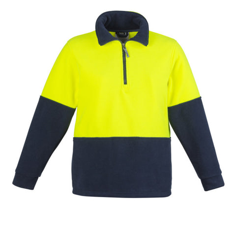 Hi-Vis Half Zip Fleece Jumper