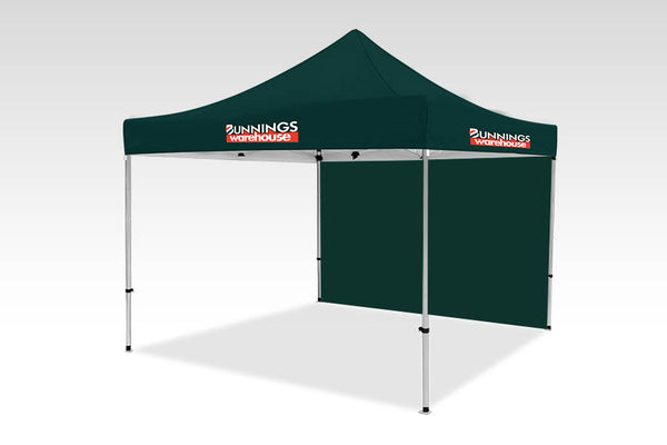3000mm x 3000mm Pop-up Gazebo with No side walls & Single back (Displayed Outside)