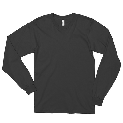 Unisex Fine Jersey Long Sleeve T-Shirt