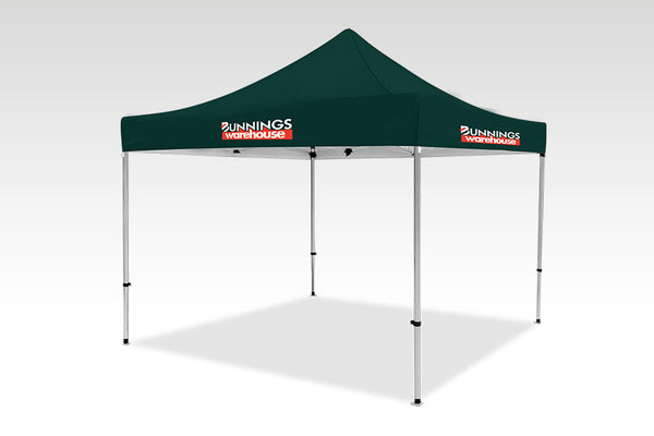 3000mm x 3000mm Pop-up Gazebo with No side walls & No back wall
