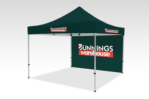 3000mm x 3000mm Pop-up Gazebo with No side walls & Single back (Displayed inside)
