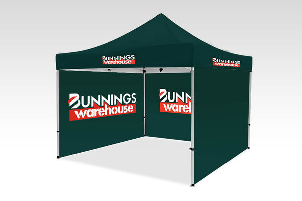 3000mm x 3000mm Pop-up Gazebo with Single side (Displayed inside) & Double Sided Back