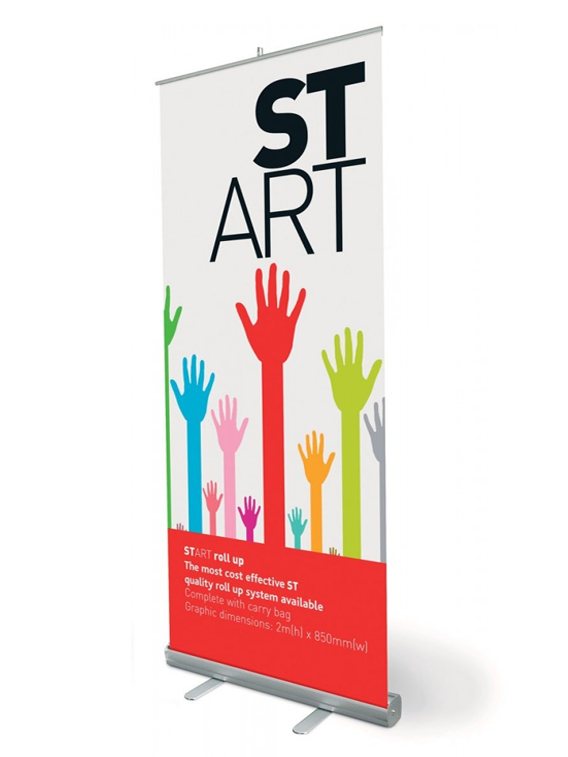 Pull-up Banner 850mmW x 1500mmH