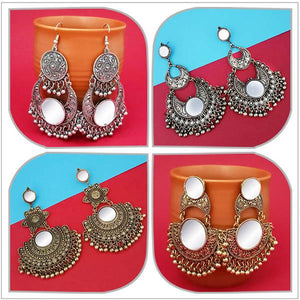 Tip top Fashions Set of 4 Earrings Pack - 1004070