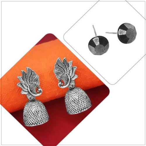 Tip top Fashions Set of 2 Earrings Combo - 1004089