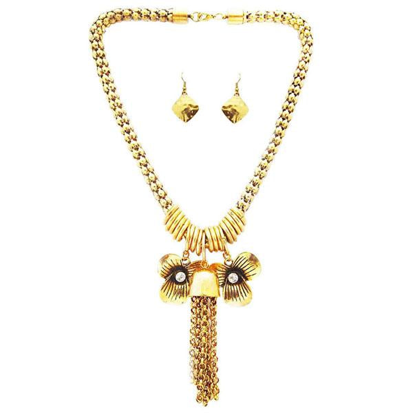 Tiptop Fashions Austrian Stone Necklace Set  -  1102201