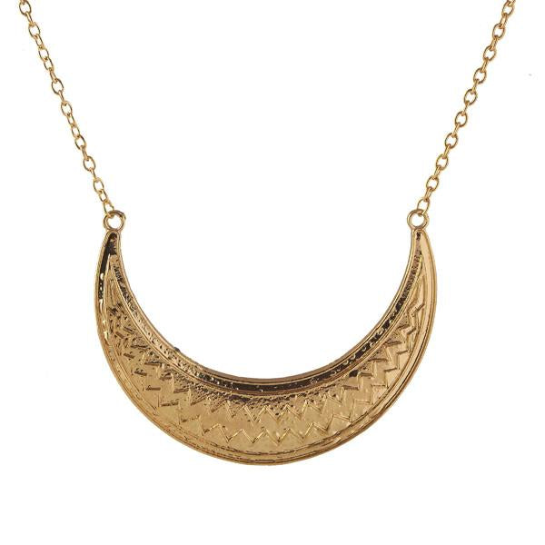 Tiptop Fashions  Gold Plated Necklace  -  Imitation Jewellery - 1103010 - 11030