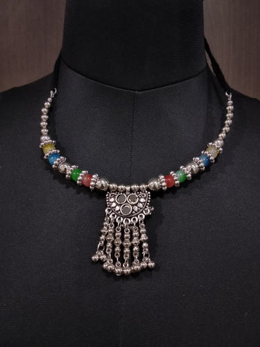 Tip Top Fashions Navratri Special Necklace Sets - 1110941