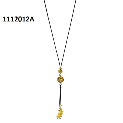 Tiptop Fashions  Zinc Alloy Gold Plated Fusion Necklace  -  Imitation Jewellery - 1112012a - 11120