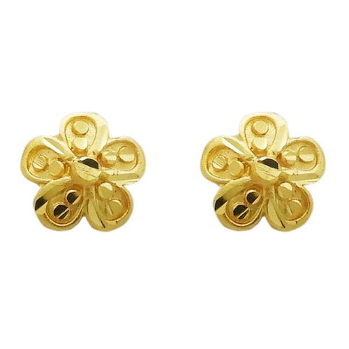 Tiptop Fashions  Gold Plated Zinc Alloy Stud Earring  -  Imitation Jewellery - 1311732 - 13117