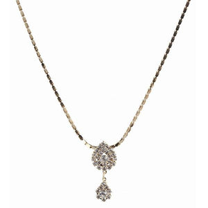 Tiptop Fashions Austrian Stone Gold Plated Necklaces  - 1102415