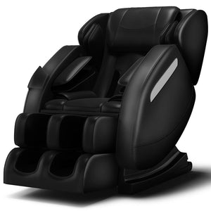 MM350 Massage Chair Recliner with Zero Gravity, Full Body Air Pressure, Bluetooth, Heat and Foot Roller Included <br>