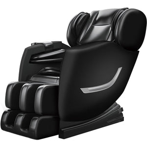 SS01 Massage Chair Recliner with Zero Gravity, Full Body Air Pressure, Bluetooth, Heat and Foot Roller Included <br>