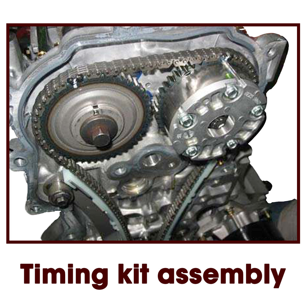 Timing Chain Kit Fit 89-97 Nissan 240SX Pick Up 2.4L SOHC KA24E | 56843675