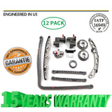 Timing Chain Kit Fit Nissan Altima Maxima 350Z Murano Infiniti VQ35DE V6 DOHC | 25468742