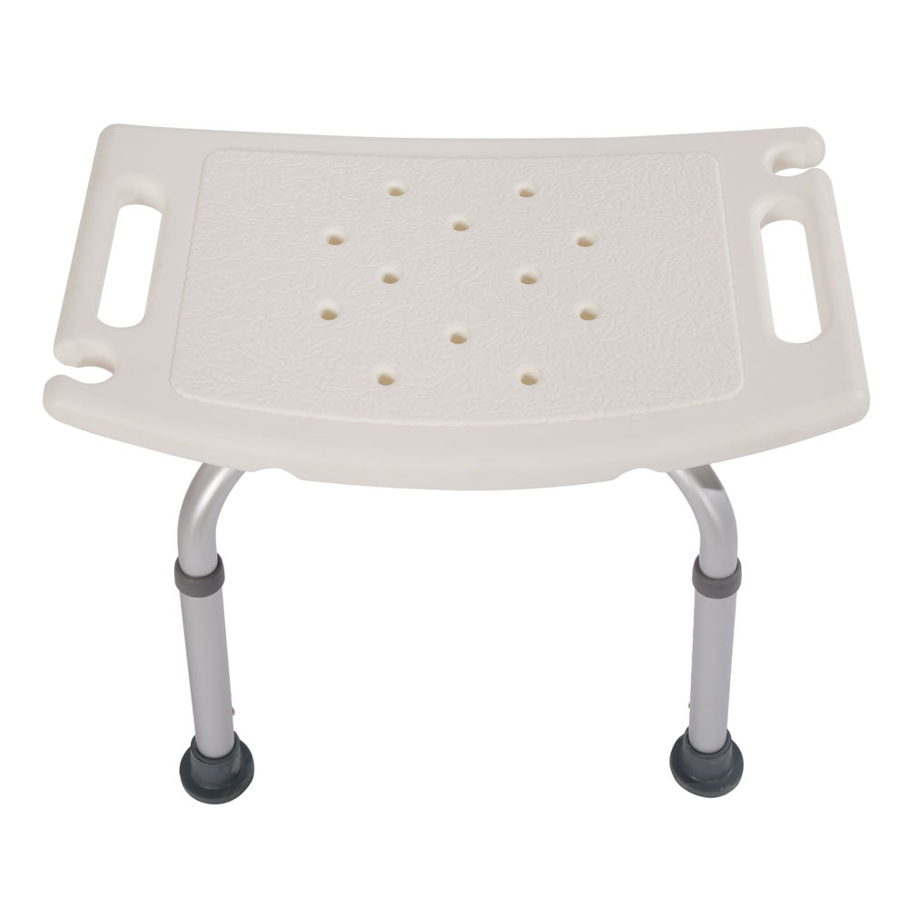 Aluminium Alloy Elderly Bath Chair without Back of a Chair White | 24686880