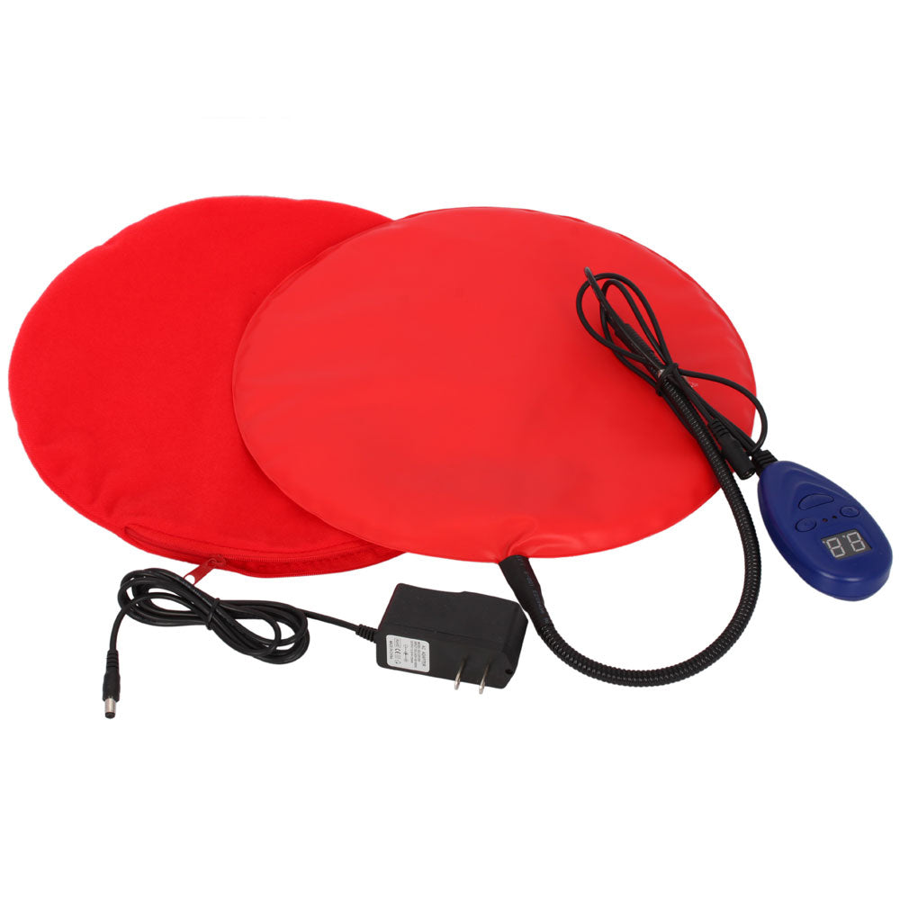 15W Safe Heated Warmer Bed Pad for Dog Cat/Reptile Pet Red | 63261621