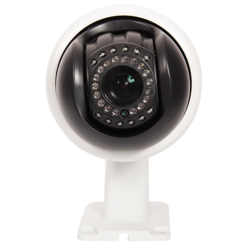 Sony CMOS 1200TVL 30X Zoom IR-CUT 360 Degrees Rotation Ceiling Mounted Dome Camera (US Standard) Whi | 10440439