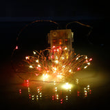 10M 100 LEDs Waterproof Remote Control Copper Wire Christmas Decoration String Light Garden Courtyar | 73369741