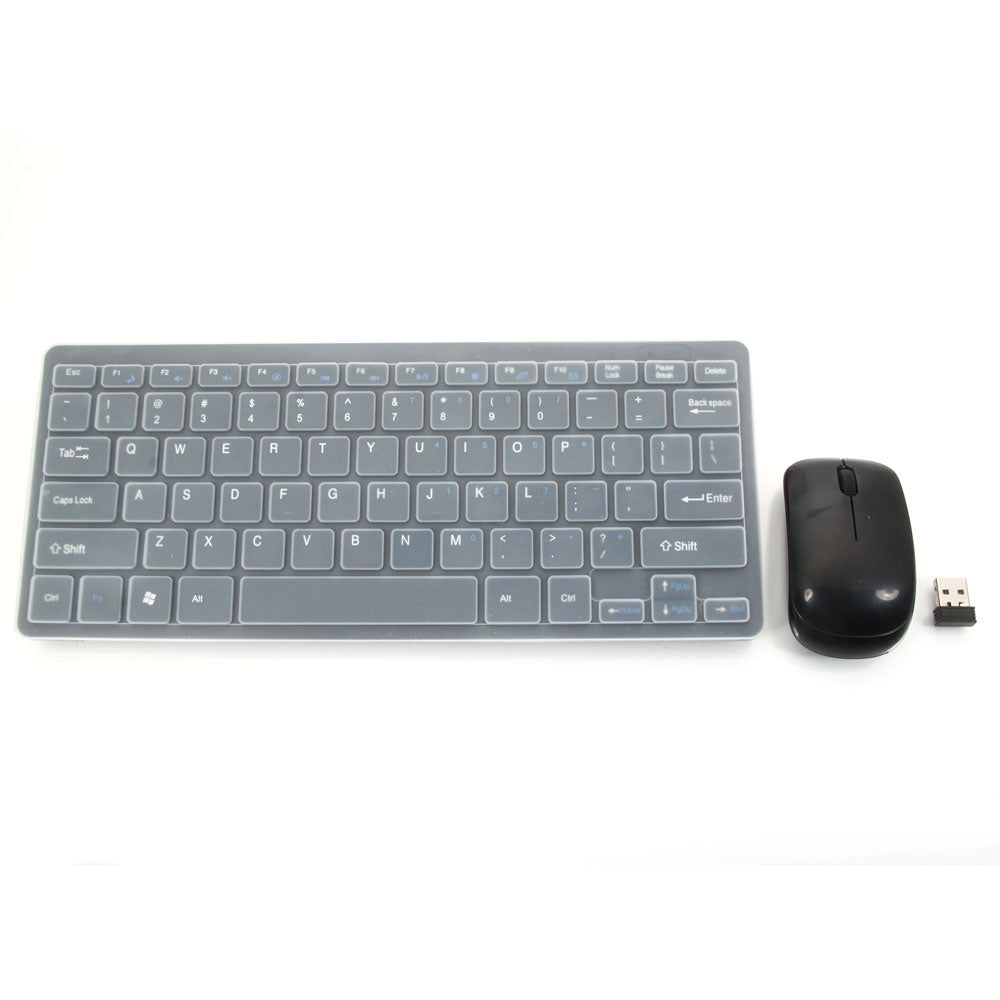 03 2.4G Wireless Mouse and Keyboard Set Black | 64163435