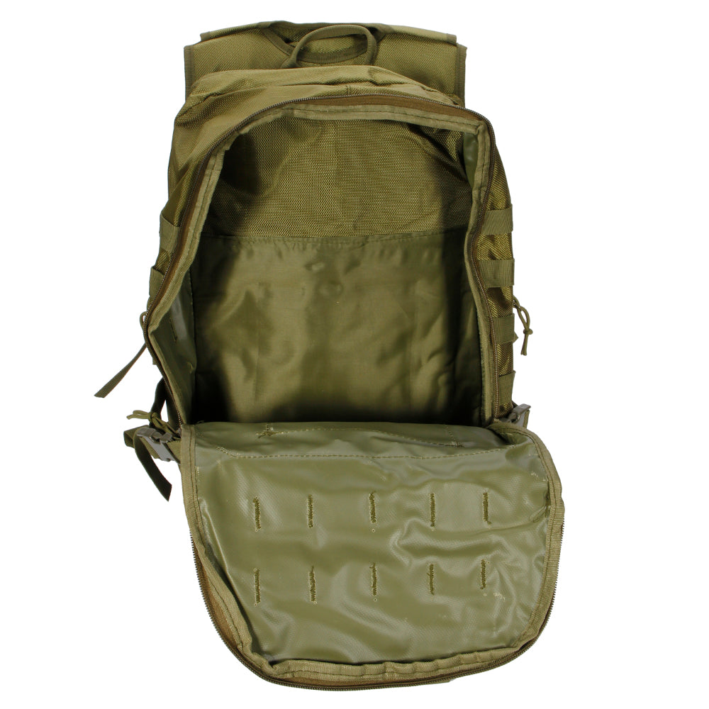 X7 Outdoor Multi-functional Oxford Cloth Tactical Backpack 35L Army Green | 70740827