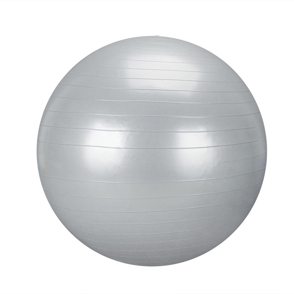 85cm 1600g Gym/Household Explosion-proof Thicken Yoga Ball Smooth Surface Silver | 56139282