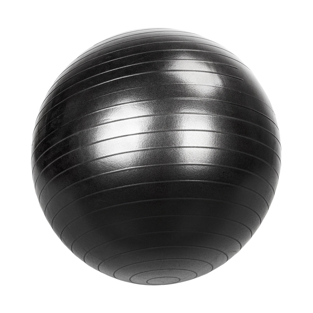 85cm 1600g Gym/Household Explosion-proof Thicken Yoga Ball Smooth Surface Black | 11260800